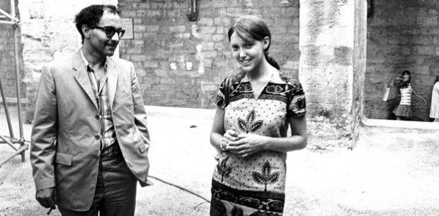 Godard e Anne Wiazemsky no set: ícone francês vai virar tema de filme