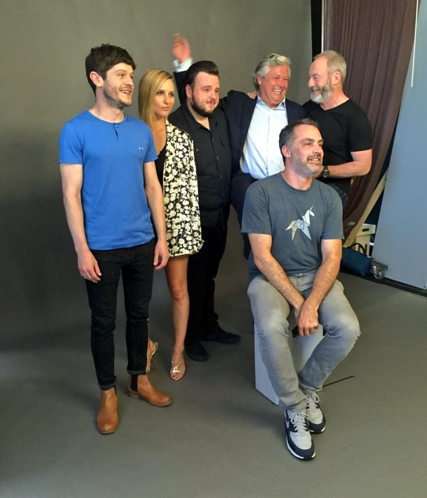 """O elenco de """"Game of Thrones"""" compareceu a San Diego para que o público expressasse todo o seu amor por Hodor (Foto: reprodução/EW)"""