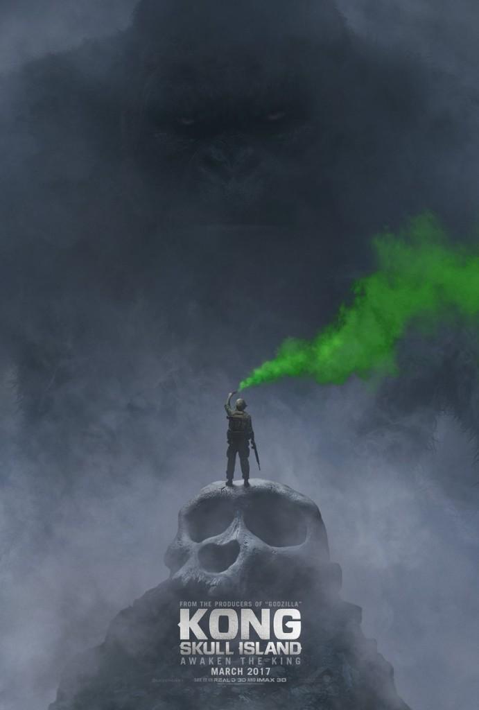 """A Warner divulgou o primeiro cartaz de """"Kong: Skull Island"""", prequela de """"King Kong"""" (Foto: divulgação)"""