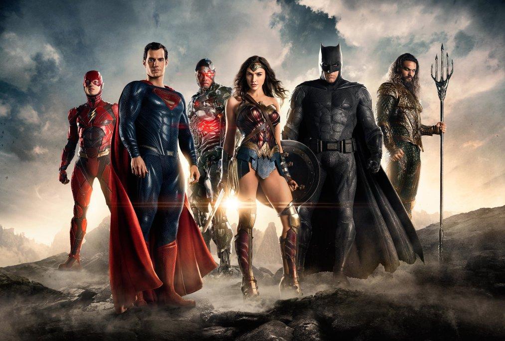 """Primeira foto promocional de """"Liga da Justiça"""""""