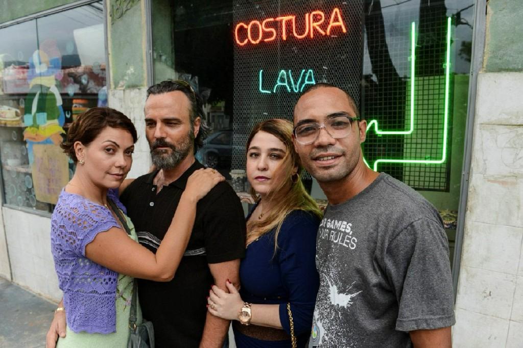 Os protagonistas do quinto filme de Julia Rezende
