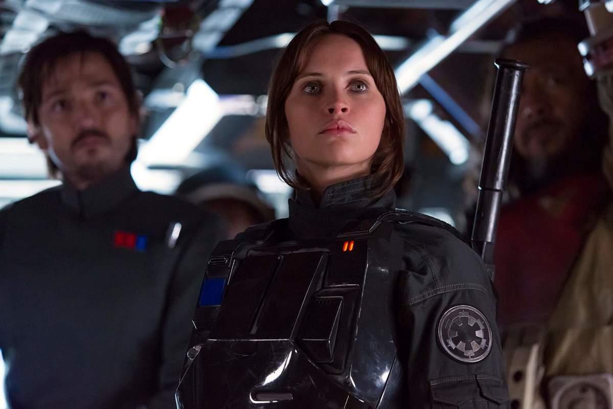 Cena do filme Rogue One, que estreia nesta quinta-feira (15) nos cinemas brasileiros Foto: divulgação
