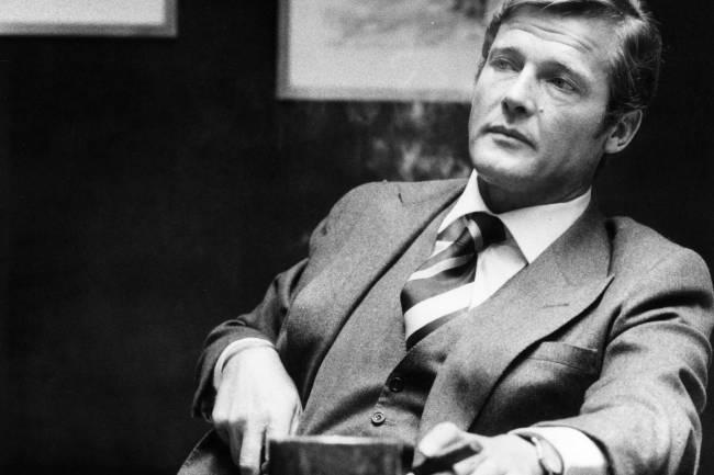 Roger Moore, eternamente Bond (Divulgação)