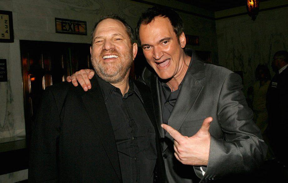 Harvey Weinstein produziu e distribuiu todos os filmes de Quentin Tarantino, seu amigo pessoal e que ainda não deu declarações convictas após a explosão das denúncias