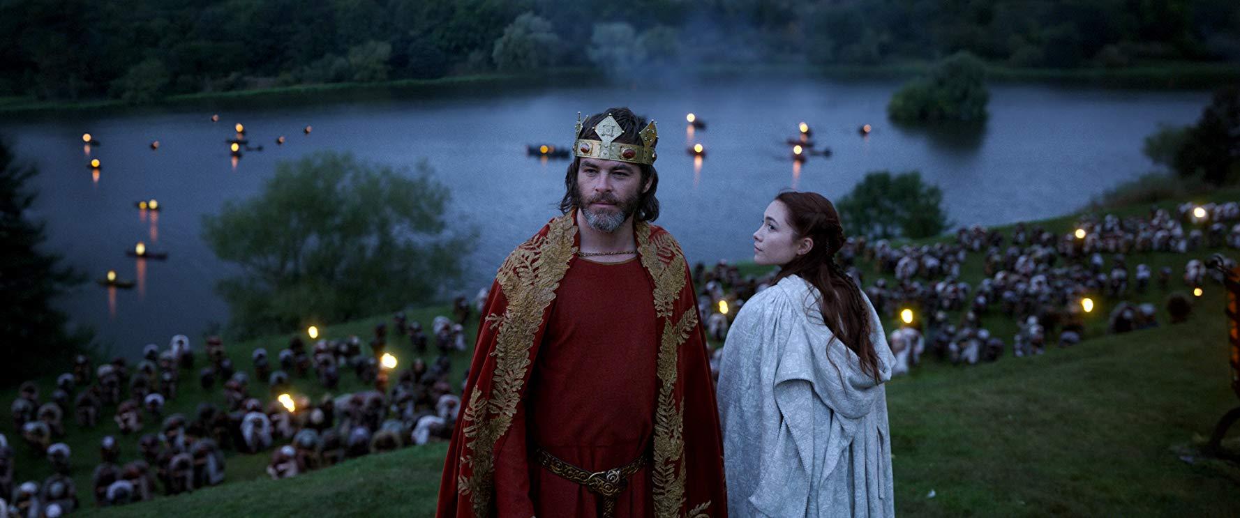 Chris Pine em cena de Legítimo Rei Fotos: divulgação