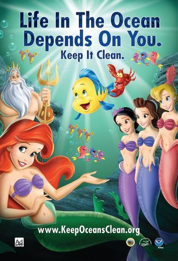 Disney Faz Campanha Educativa Para Preservar Oceanos Comunica