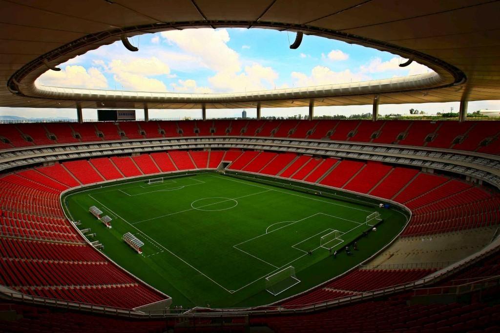 Estádio Omnilife, onde serão realizadas as cerimônia de abertura e encerramento do Pan 2011