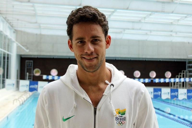 Thiago Pereira criticou a ausência das tevês brasileiras nos Jogos Sul-Americanos