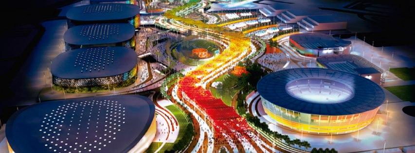 Imagem do projeto final do Parque Olímpico da Barra da Tijuca