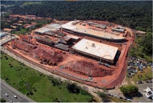 Obras do Centro Paraolímpico Brasileiro, em São Paulo