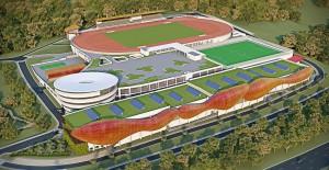 Projeção de como ficará o Centro Paraolímpico Brasileiro após a conclusão das obras