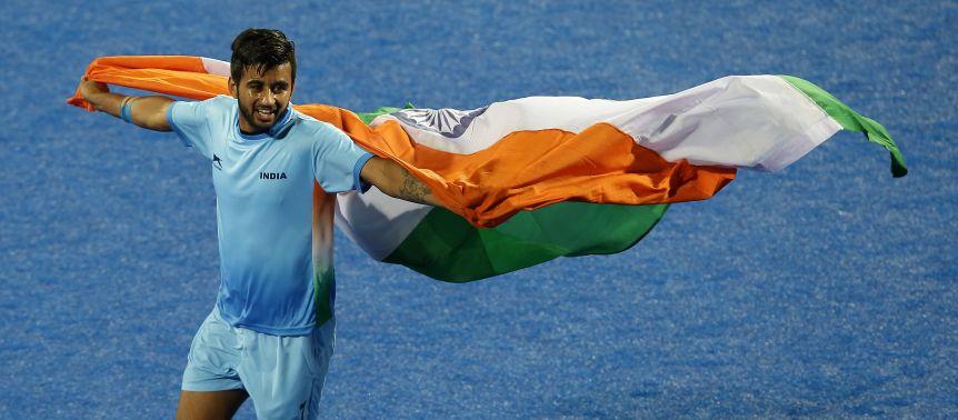 Dona de oito medalhas de ouro na história olímpica, a Índia se classificou para o torneio masculino no hóquei sobre grama