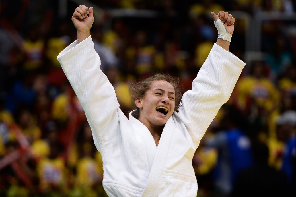 Nos Jogos do Rio 2016, a judoca do Kosovo Majlinda Kelmendi poderá finalmente comemorar suas vitórias representando seu próprio país