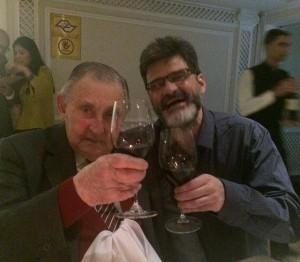 Meu pai (91), eu (52) e um brinde de um Marques de Casa Concha (40)